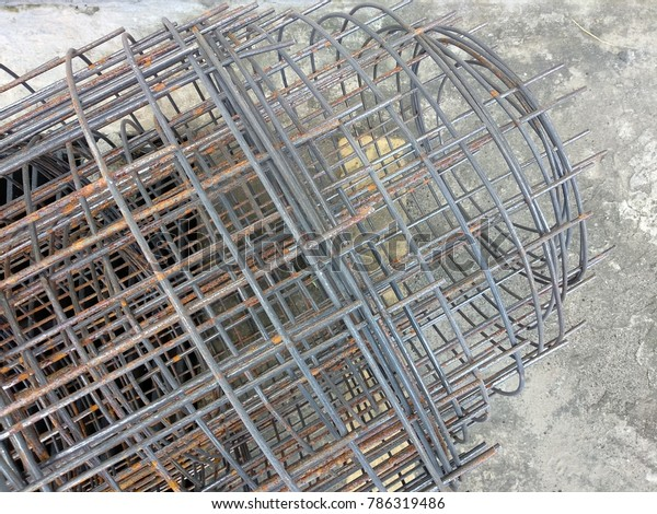 Welded Wire Mesh Brc Fabric Prefabricated Stock Photo (Edit Now