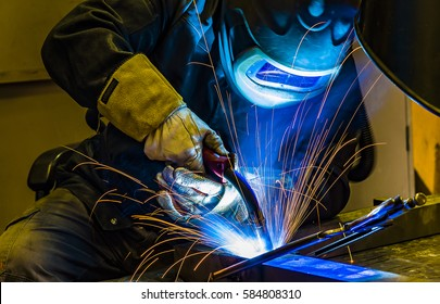 welder Industrial automotive part in factory welder in ammunition welder in ammunition