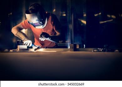 Welding aluminum using tig welder