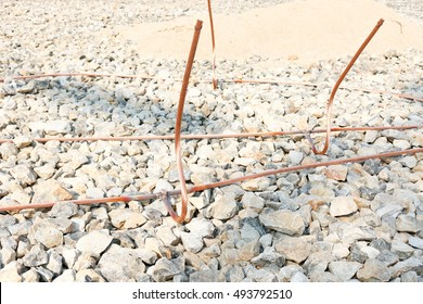 Ground wire images stock photos vectors shutterstock welding copper ground wire on ground grid substation greentooth Images