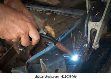 Welding, Industrial Welding Plant