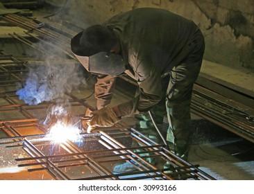 welding of metal