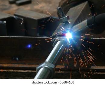 Welding  metal