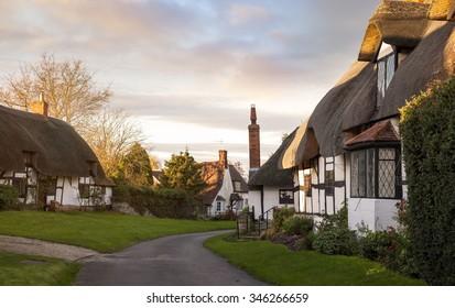 Welford on Avon village, Warwickshire, England