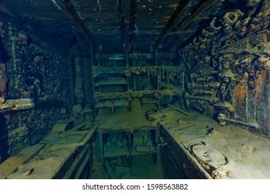 well preserved ship wreck workshop