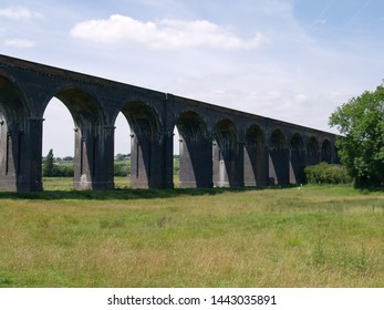 The Welland Viaduct (also known as the Seaton or Harringworth Viaduct) is a Victorian Railway Viaduct over a kilometre in length crossing the border from Northamptonshire into Rutland.