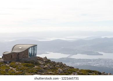 Mountain's Wellington views, Australia 2018