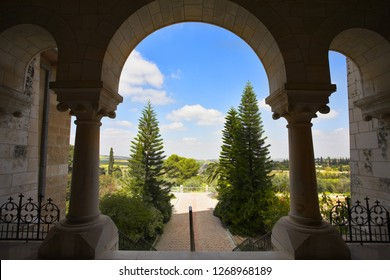 Well-known monastery Convent of Latroun in Israel