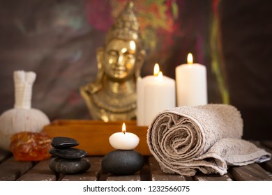 wellness spa composition