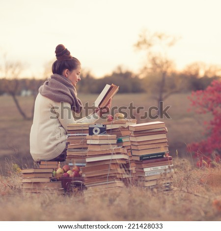 well-read girl