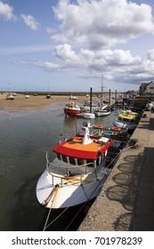 Wells next the Sea fishing boats