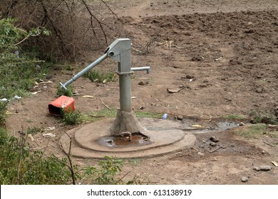 Wells and water pumps in Africa