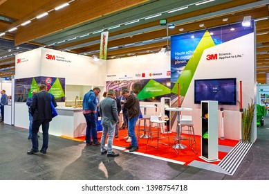 Wels, Upper Austria - 05.15.2019: ASTRAD and AustroKOMMUNAL - 3M stand
