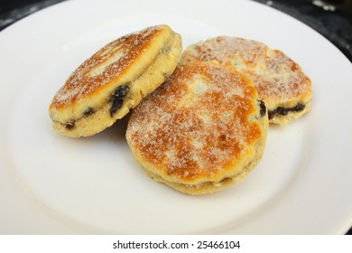 Welsh Cakes on a plate