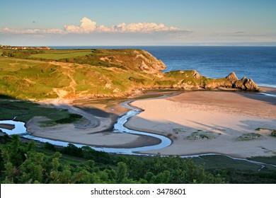 welsh coastline landscape