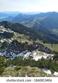 Wendelstein a mountain in bavaria