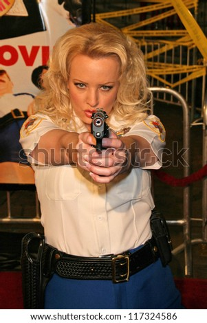 Wendi Mc Lendon Covey Premiere Reno 911 Miami Stock Photo Edit Now