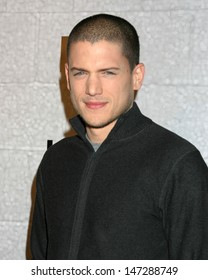 Wentworth Miller at the Prison Break Wrap Party Twentieth Century Fox Lot Los Angeles, CA April 27, 2006