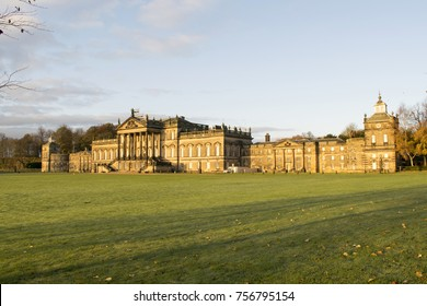 Wentworth Woodhouse is a Grade I listed country house in the village of Wentworth, near Rotherham in South Yorkshire, England. It is currently owned by the Wentworth Woodhouse Preservation Trust.