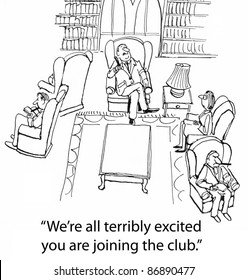 We're all terribly excited you are joining the club.