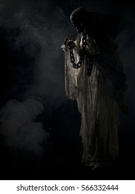 Werewolf Scary Figure Halloween Themed Image Stock Photo