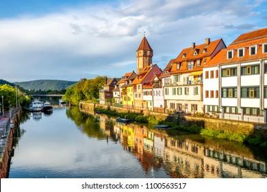 Wertheim, Castle, Tower, Germany