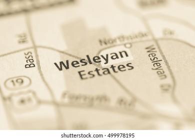 Wesleyan Estates. Georgia. USA