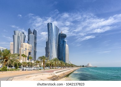West Bay in Doha Qatar