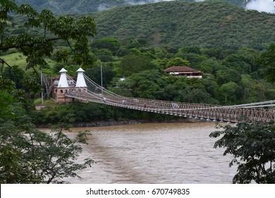 West bridge - Puente de Occidente Santafe de Antioquia