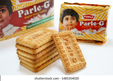 """""""West Chester,PA /USA - August 20 2019 :Parle G biscuits from India"""""""