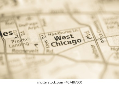West Chicago. Chicago. Illinois. USA