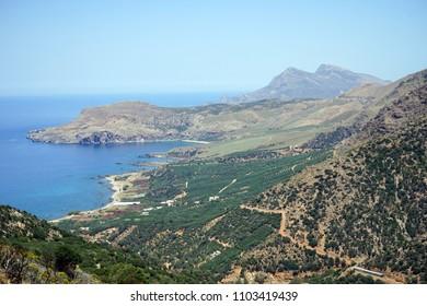 West coast of Crete island, Greece