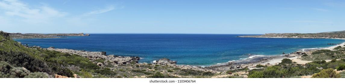 West coast of Krete island, Greece