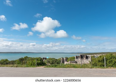 WEST COAST NATIONAL PARK, SOUTH AFRICA, AUGUST 20, 2018: Picnic area at Preekstoel at the Langebaan Lagoon on the Atlantic Ocean coast in the Western Cape Province