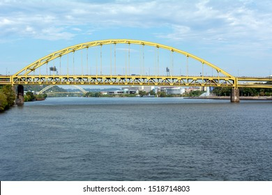 West End Bridge Over the Ohio River in Pittsburgh, Pennsylvania