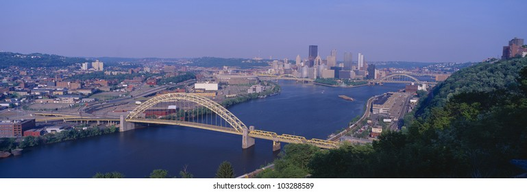 West End Bridge at the Three Rivers in Pittsburgh