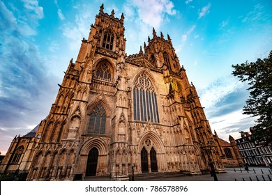 The West Front of York Minster