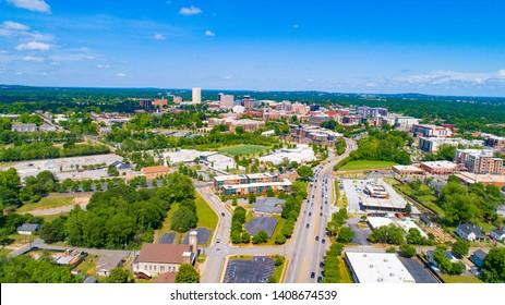 West Greenville, South Carolina, USA Skyline.