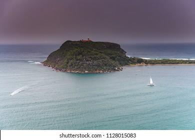 West Head Lookout in Sydney's Ku-ring-gai Chase National Park, NSW, Australia.