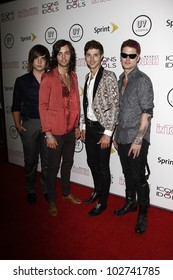 WEST HOLLYWOOD - AUG 28: Hot Chelle Rae at the 4th annual Icons & Idols party at the Sunset Tower Hotel in West Hollywood, California on August 28, 2011