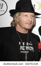 WEST HOLLYWOOD - AUG 28: Matt Sorum at the 4th annual Icons & Idols party at the Sunset Tower Hotel in West Hollywood, California on August 28, 2011