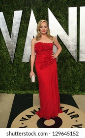 WEST HOLLYWOOD, CA - FEB 24: Marley Shelton at the Vanity Fair Oscar Party at Sunset Tower on February 24, 2013 in West Hollywood, California