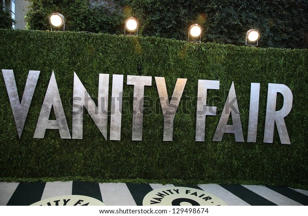 WEST HOLLYWOOD, CA - FEB 24: Vanity Fair at the Vanity Fair Oscar Party at Sunset Tower on February 24, 2013 in West Hollywood, California