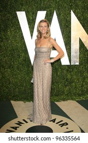 WEST HOLLYWOOD, CA - FEB 26: Brooklyn Decker at the Vanity Fair Oscar Party at Sunset Tower on February 26, 2012 in West Hollywood, California.
