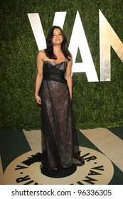 WEST HOLLYWOOD, CA - FEB 26: Michelle Rodriguez at the Vanity Fair Oscar Party at Sunset Tower on February 26, 2012 in West Hollywood, California.