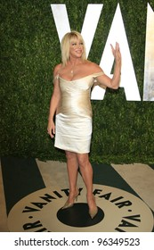 WEST HOLLYWOOD, CA - FEB 26: Suzanne Somers at the Vanity Fair Oscar Party at Sunset Tower on February 26, 2012 in West Hollywood, California.