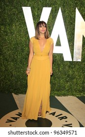 WEST HOLLYWOOD, CA - FEB 26: Rashida Jones at the Vanity Fair Oscar Party at Sunset Tower on February 26, 2012 in West Hollywood, California.
