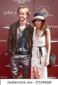 WEST HOLLYWOOD, CALIFORNIA - March 11, 2012. Tom Felton at the John Varvatos 9th Annual Stuart House Benefit held at the John Varvatos Boutique, Los Angeles.