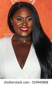 WEST HOLLYWOOD, CA/USA -  SEPTEMBER  18  2015: Danielle Brooks attends the Variety and Women in Film Annual Pre-Emmy Celebration.