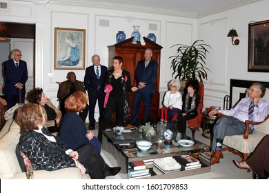 WEST HOLLYWOOD - DEC 3: Guests at a luncheon honoring Joni Berry and Mitzi Gaynor for the PDS board with The Actors Fund Medal of Honor at a private residenceon Dec 3, 2019 in West Hollywood, CA